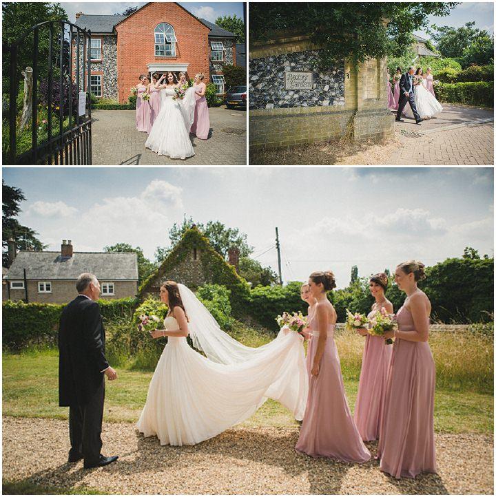 11 Rustic Chic Barn Wedding in Suffolk