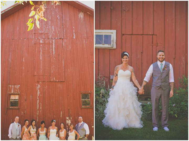 11 Rustic Outdoor Wedding with Loads of DIY Touches