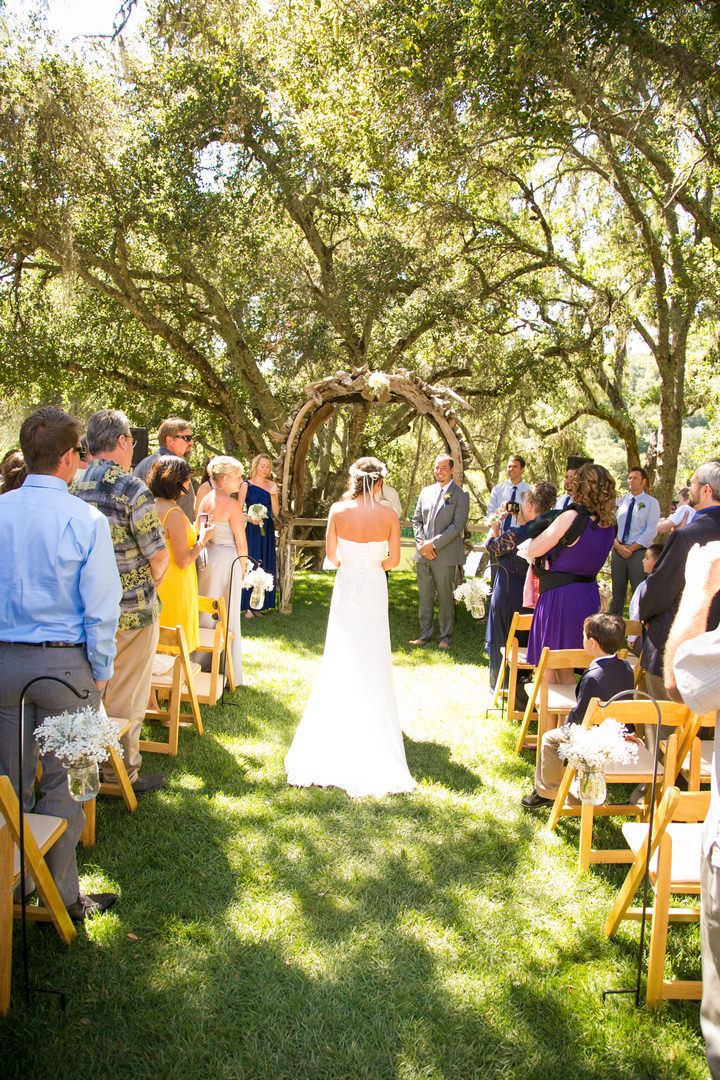 Boho Backyard Wedding :  and Dustin?s Beautiful Boho Style Outdoor Wedding By Ashley Blake