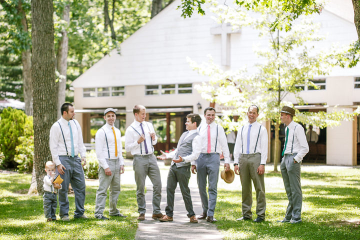 12 Colourful Laid Back Wedding all under $5,000
