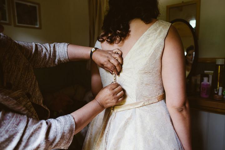 12 Handmade Wedding in The Woods Complete with Ferret Racing