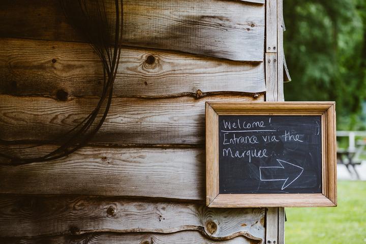 13 Handmade Wedding in The Woods Complete with Ferret Racing