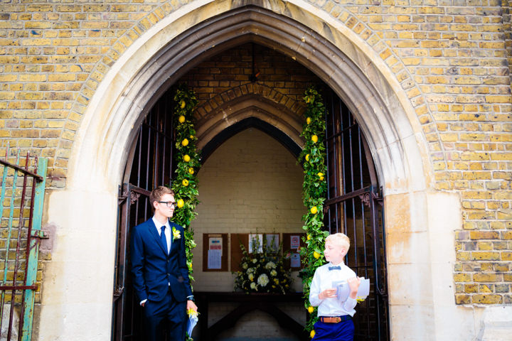 14 Lemon Yellow London Wedding