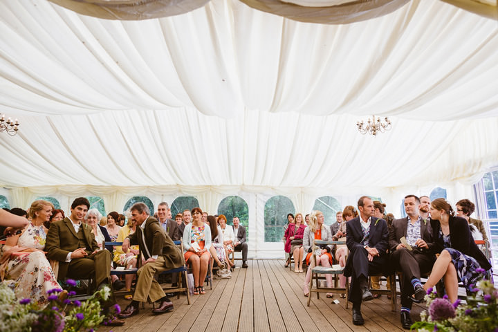 16 Handmade Wedding in The Woods Complete with Ferret Racing