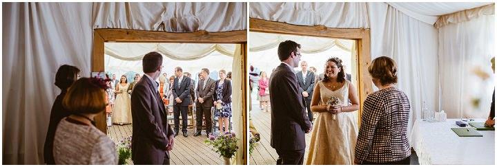 17 Handmade Wedding in The Woods Complete with Ferret Racing