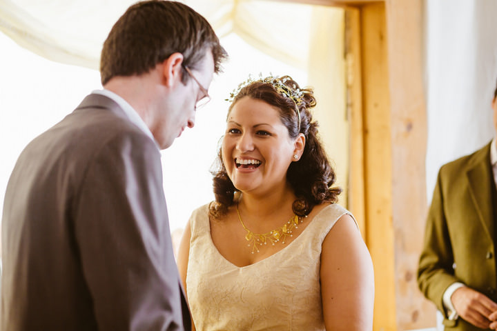 18 Handmade Wedding in The Woods Complete with Ferret Racing