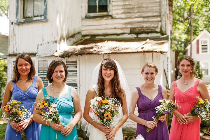 2 Colourful Laid Back Wedding all under $5,000