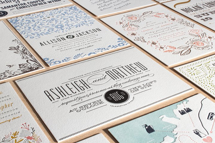 Wedding Invitations 101 Choices and Options To Notify Wow and