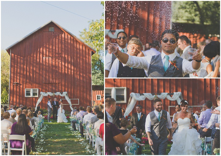 20 Rustic Outdoor Wedding with Loads of DIY Touches