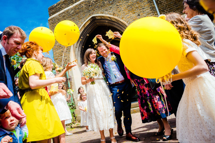 21 Lemon Yellow London Wedding