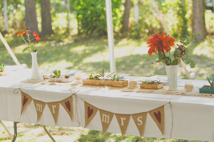 21 Rustic Outdoor Wedding with Loads of DIY Touches