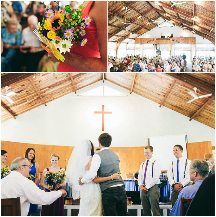 Colourful Laid Back Wedding All Under $5,000