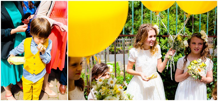 22 Lemon Yellow London Wedding