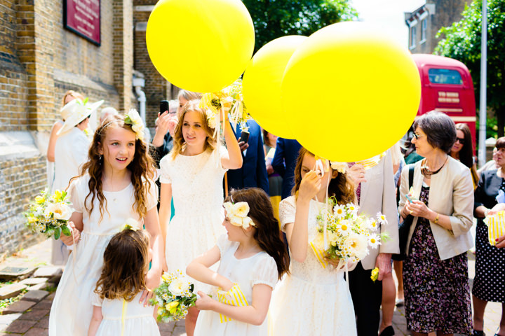 23 Lemon Yellow London Wedding