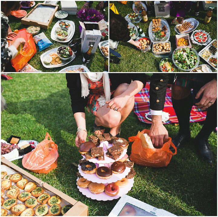 25 London Picnic Wedding By Kristian Leven