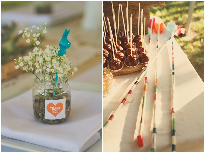 25 Rustic Outdoor Wedding with Loads of DIY Touches
