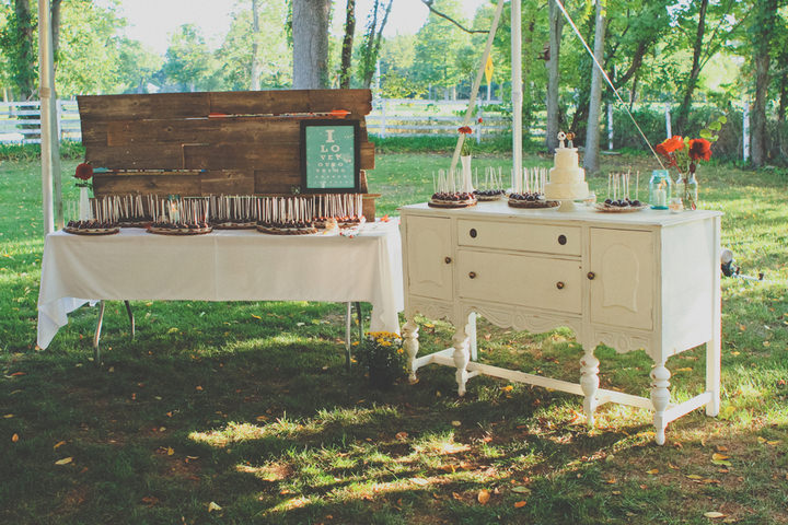 28 Rustic Outdoor Wedding with Loads of DIY Touches