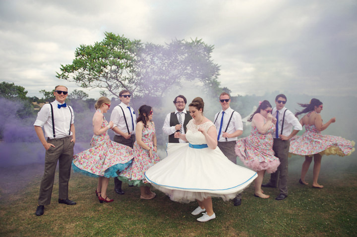 3 1950's Garden Party Wedding