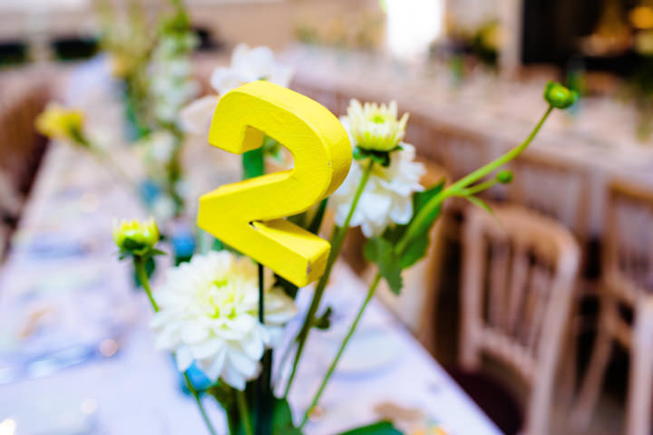3 Lemon Yellow London Wedding
