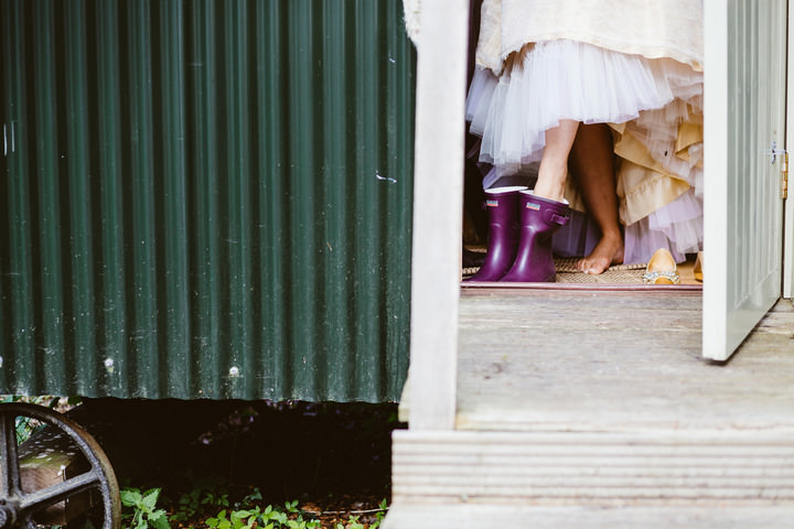 30 Handmade Wedding in The Woods Complete with Ferret Racing