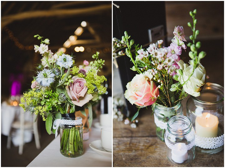 barn wedding flowers rustic chic barn wedding in suffolk by lola photography 1504