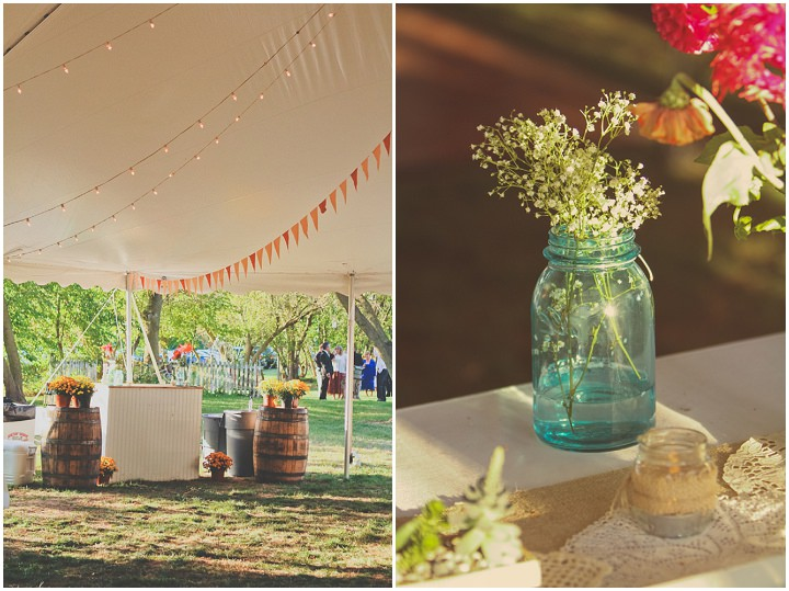 30 Rustic Outdoor Wedding with Loads of DIY Touches