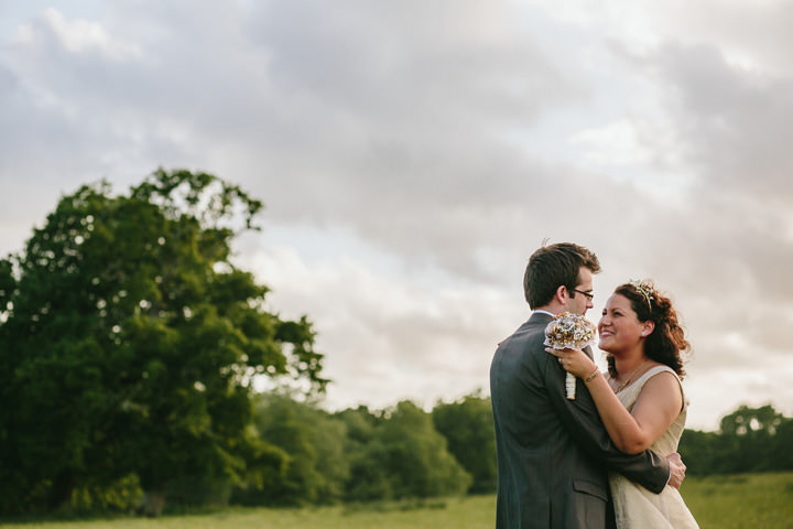 32 Handmade Wedding in The Woods Complete with Ferret Racing