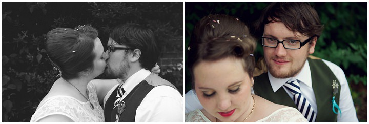 33 1950's Garden Party Wedding