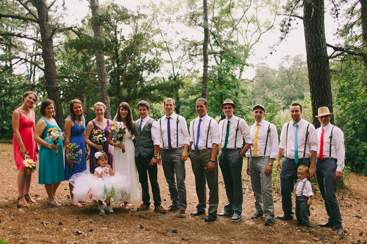 33 Colourful Laid Back Wedding all under $5,000