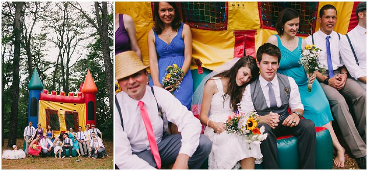34 Colourful Laid Back Wedding all under $5,000