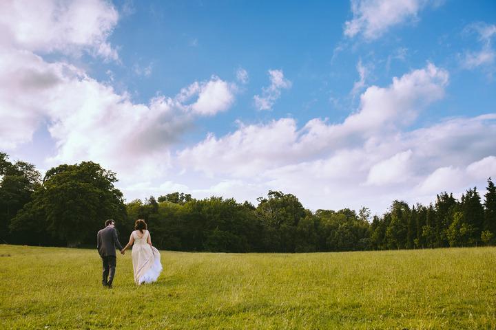 34 Handmade Wedding in The Woods Complete with Ferret Racing
