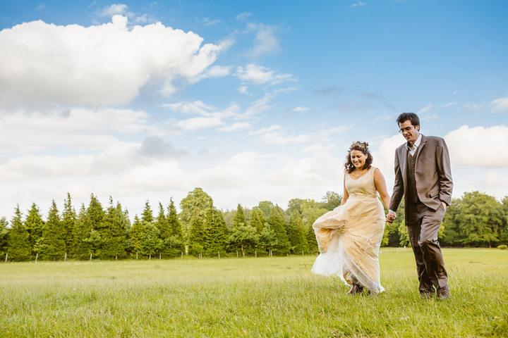 35 Handmade Wedding in The Woods Complete with Ferret Racing