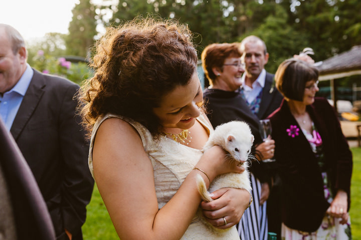 39 Handmade Wedding in The Woods Complete with Ferret Racing
