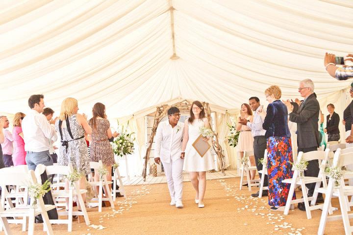 4 Bournemouth Beach Wedding