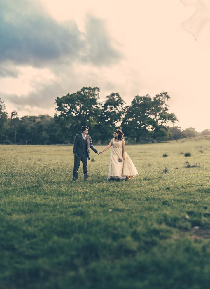 4 Handmade Wedding in The Woods Complete with Ferret Racing