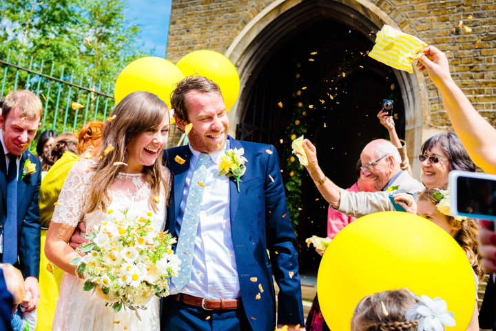 4 Lemon Yellow London Wedding