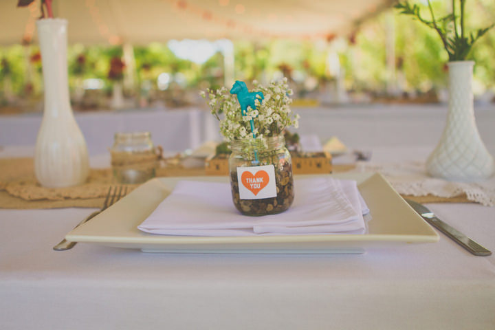 4 Rustic Outdoor Wedding with Loads of DIY Touches
