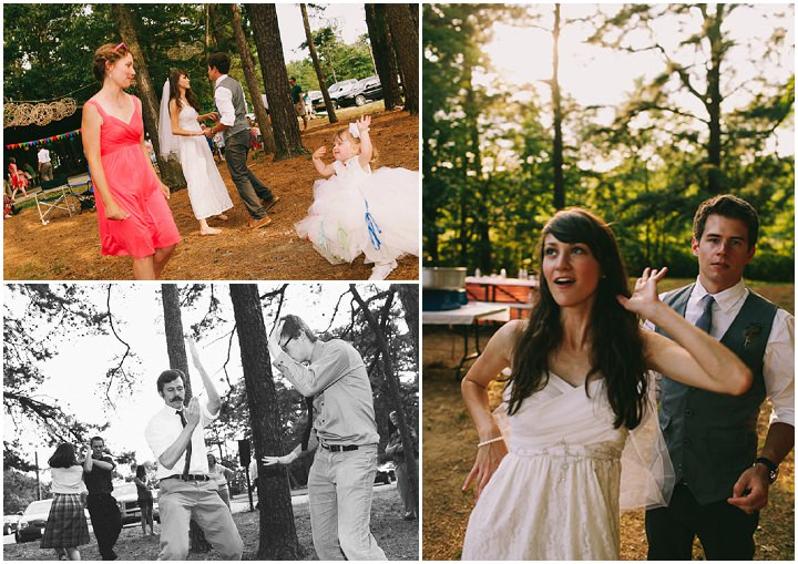 Kristi and Josh\'s Colourful Laid Back Wedding all under $5,000. By ...