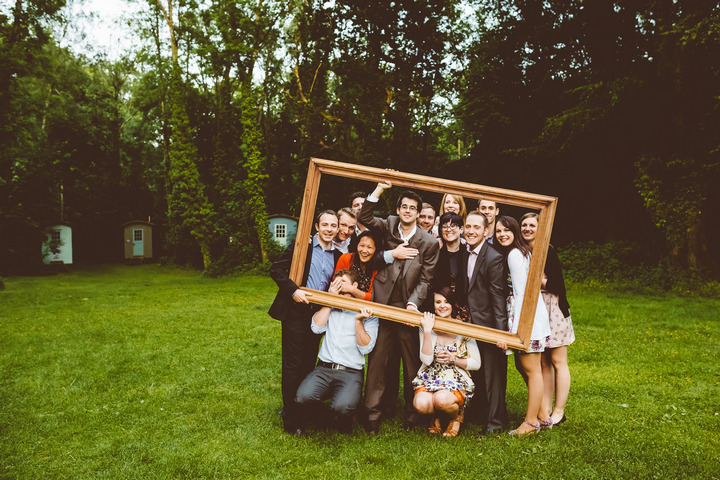43 Handmade Wedding in The Woods Complete with Ferret Racing