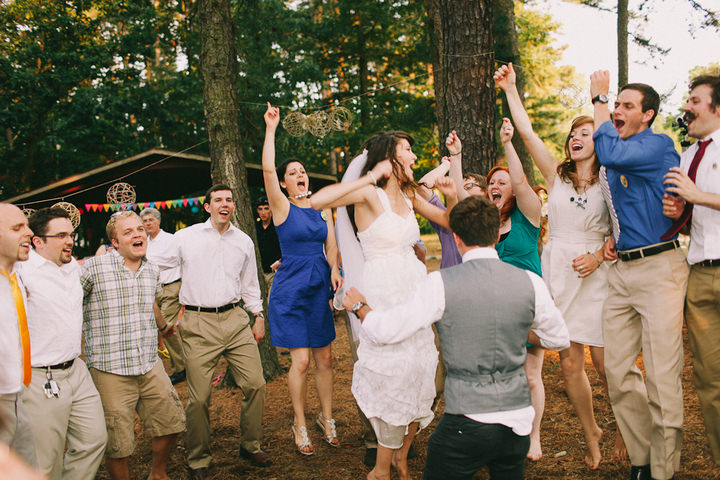 44 Colourful Laid Back Wedding all under $5,000