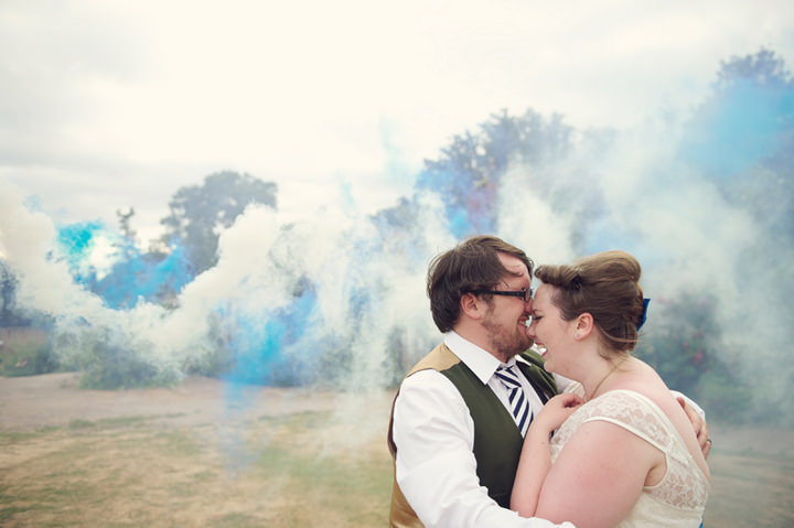 45 1950's Garden Party Wedding
