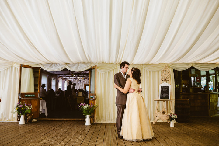 45 Handmade Wedding in The Woods Complete with Ferret Racing