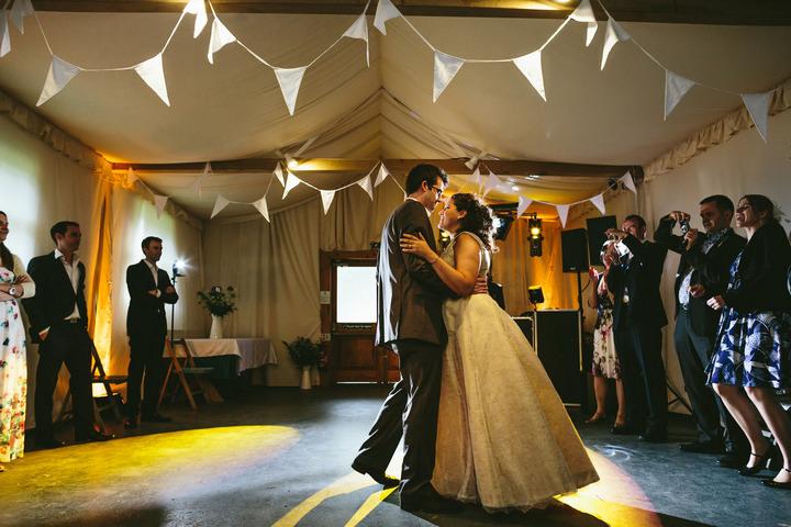 47 Handmade Wedding in The Woods Complete with Ferret Racing