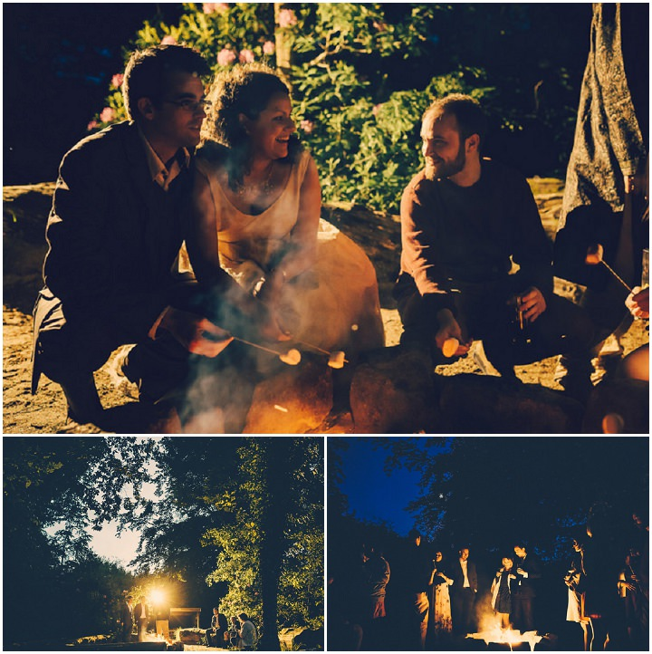 52 Handmade Wedding in The Woods Complete with Ferret Racing
