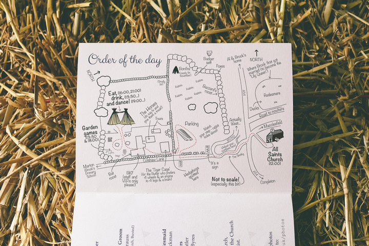 6 Relaxed, Rustic, Country Wedding By Emma Boileau