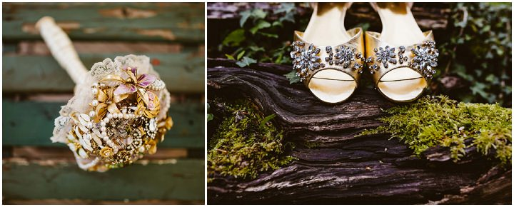 8 Handmade Wedding in The Woods Complete with Ferret Racing