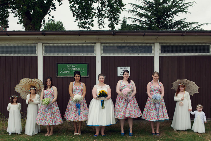 9 1950's Garden Party Wedding