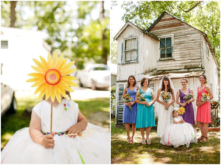 Colourful Laid Back Wedding all under $5,000