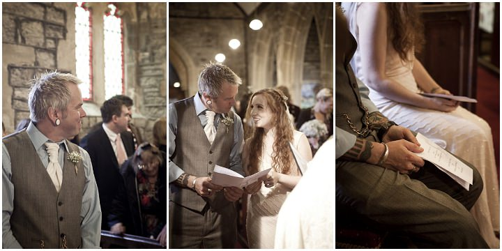 11 Rustic Vintage Wedding in  Somerset