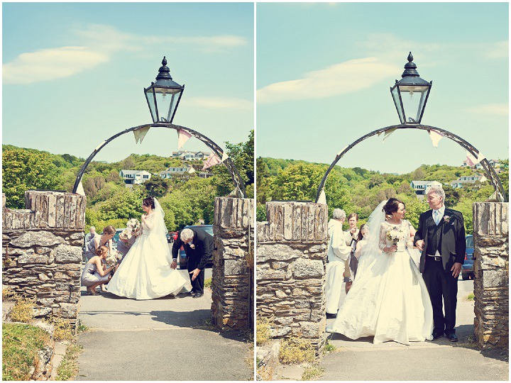 11 Sunshine Filled Devon Wedding By Michael Marker Photography
